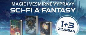 Magie i vesmírné výpravy | SCI-FI A FANTASY 1+3 ZDARMA