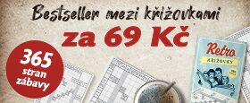 Retro křížovky | BESTSELLER MEZI KŘÍŽOVKAMI ZA 69 KČ