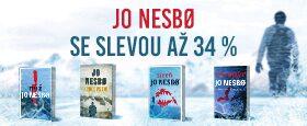 Nejoblíbenější severské krimi | JO NESBØ SE SLEVOU AŽ 34 %