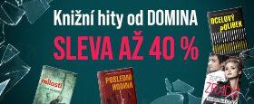 KNIŽNÍ HITY OD DOMINA SE SLEVOU AŽ 40 %