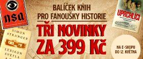 Balíček knih pro fanoušky historie | TŘI NOVINKY ZA 399 KČ