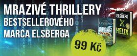 Mrazivé thrillery bestsellerového Marca Elsberga | Každý za 99 Kč