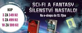 Sci-fi a fantasy šílenství nastalo! | 10 knížek za 599 Kč
