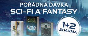 Velká porce sci-fi a fantasy | 1+2 ZDARMA