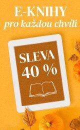 40 % sleva na e-knihy! | Cestopisy, osobní rozvoj či další vaše zájmy