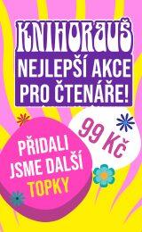 KNIHORAUŠ | Kup 5 a více knih a každou máš jen za 99 Kč!