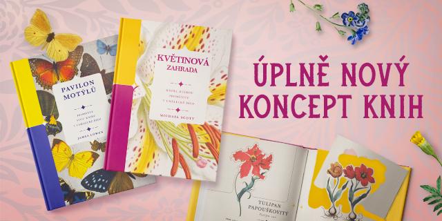 Poznejte květiny a motýly v unikátních publikacích - titulní obrázek