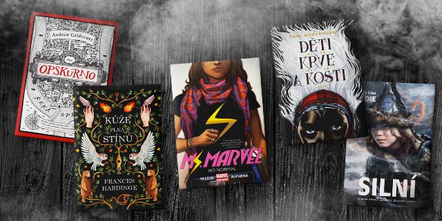 Fantasy a young adult knihy, které jste možná v roce 2018 přehlédli - titulní obrázek