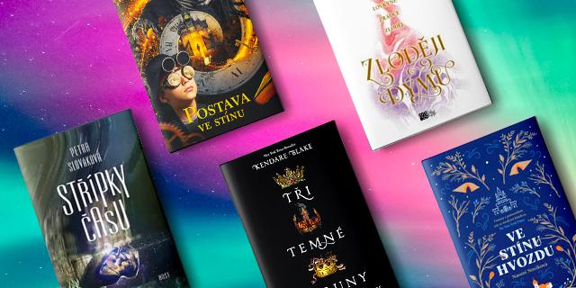 5 knih pro vybíravé čtenáře fantasy a young adult - titulní obrázek