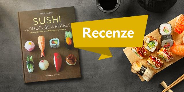 RECENZE: Sushi jednoduše a rychle - titulní obrázek