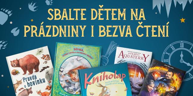 Zabavte děti o prázdninách či dovolených čtivými knihami - titulní obrázek