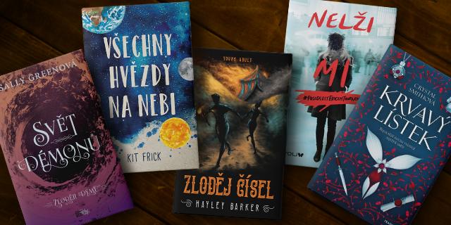 5 skvělých knih pro young adult čtenáře - titulní obrázek