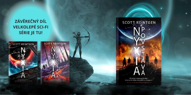 Návrat do vesmíru se sci-fi trilogií Nyxia - titulní obrázek