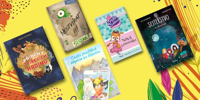 Čtení pro malé čtenáře - příběhy o zvířátkách - titulní obrázek