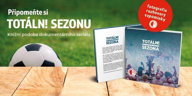 Sešívané knižní štěstí – Totální sezona SK Slavia Praha - titulní obrázek