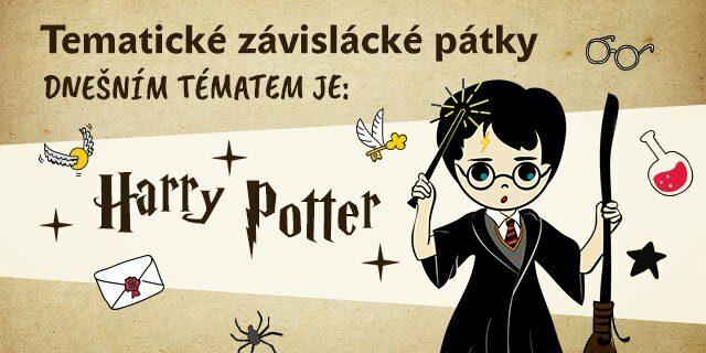 Tematický pátek #1: Harry Potter - titulní obrázek