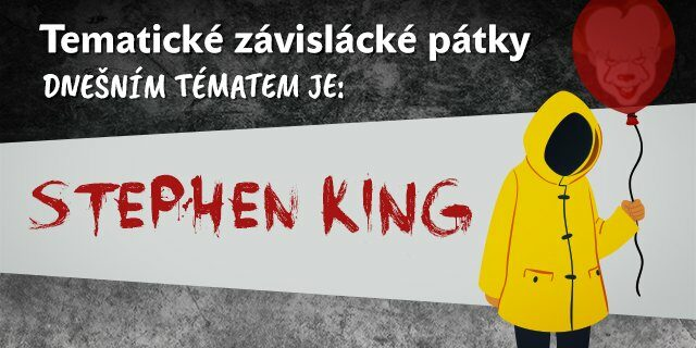 Tematický pátek #2: Stephen King - titulní obrázek