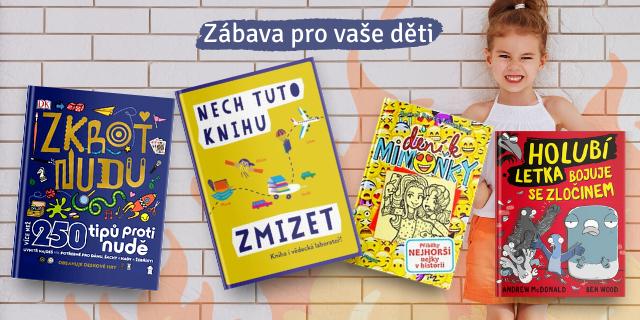 4 zábavné knihy pro vaše děti - titulní obrázek