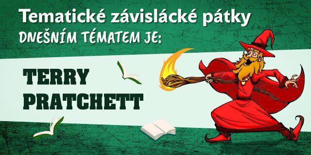 Tematický pátek #4: Terry Pratchett - titulní obrázek