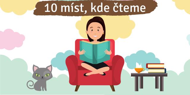 10 míst, kde si nejraději čteme - titulní obrázek