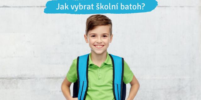 Jak vybrat školní batoh? - titulní obrázek