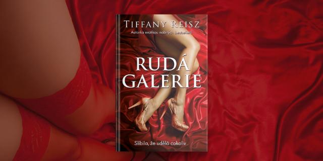 Rudá galerie – jeden z nejodvážnějších erotických románů současnosti - titulní obrázek