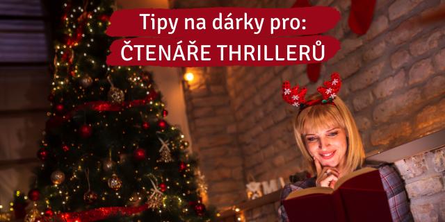 Tipy na vánoční dárky pro čtenáře thrillerů - titulní obrázek