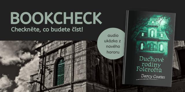 Bookcheck #30: Duchové rodiny Folcroftů - titulní obrázek