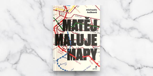 Rozhovor s Michaelou Hoškovou, autorkou knihy Matěj maluje mapy - titulní obrázek
