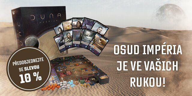 Představujeme deskovou hru Duna: Impérium - titulní obrázek