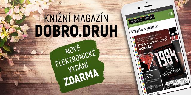 Opět nevíte, co číst? Mrkněte do našeho on-line magazínu Dobro.druh! - titulní obrázek