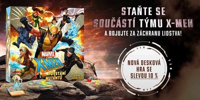 Představujeme deskovou hru MARVEL X-MEN: Povstání mutantů - titulní obrázek