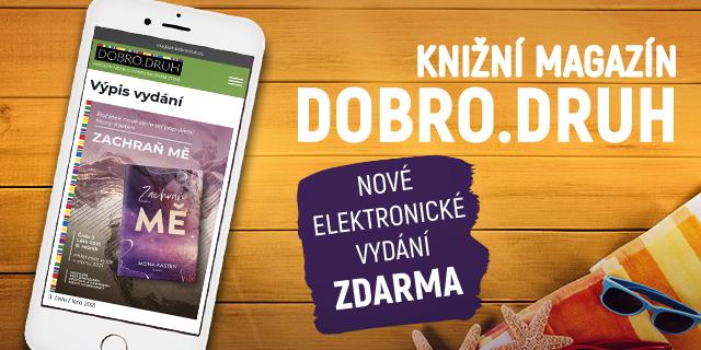 Nové vydání magazínu DOBRO.DRUH je nabité knižními tipy i rozhovory - titulní obrázek