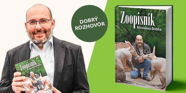 Exkluzivní rozhovor: Miroslav Bobek o jeho jeho nové knize Zoopisník - Zápisky ředitele pražské zoo - titulní obrázek