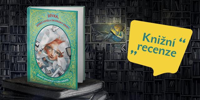 RECENZE: Dívka, která chtěla zachránit knížky - titulní obrázek