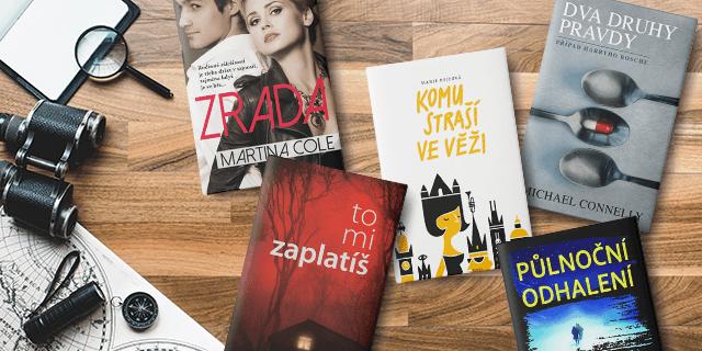 5 tipů na čtení pro milovníky detektivek - titulní obrázek