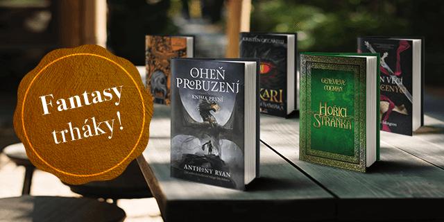 5 skvělých fantasy knížek (nejen) na léto - titulní obrázek