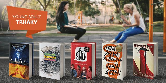 5 skvělých young adult knížek (nejen) na léto - titulní obrázek