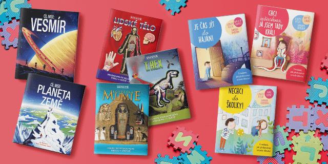 Tři nové knižní edice pro děti a jejich rodiče - titulní obrázek