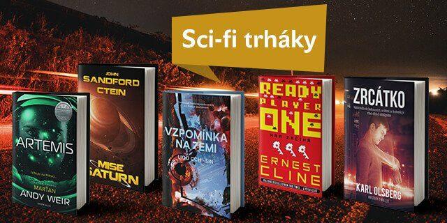 5 skvělých sci-fi knížek (nejen) na léto - titulní obrázek