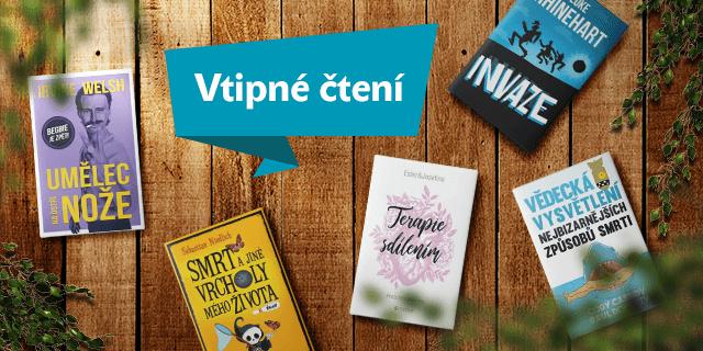 5 knih, které vás rozesmějí - titulní obrázek