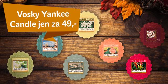 Užijte si voňavý podzim s vosky Yankee Candle jen za 49 Kč - titulní obrázek