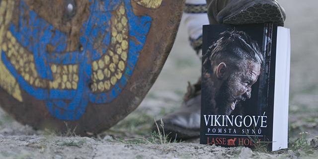 Vikingové: Ze zákulisí tvorby traileru a knižní obálky - titulní obrázek