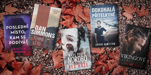 5 knižních novinek, které zahájily podzim v našich knihkupectvích - titulní obrázek