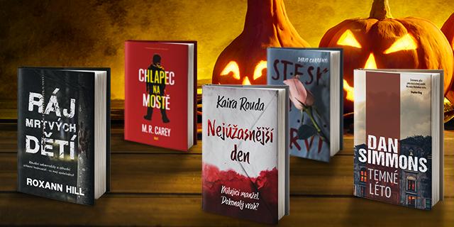 Halloweensko-dušičkové strašidelné počtení - titulní obrázek