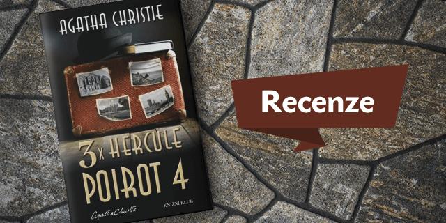 RECENZE: 3× Hercule Poirot 4 - titulní obrázek