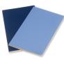 Moleskine - zápisník Volant 2 ks - linkovaný, modrý L 1