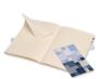 Moleskine - zápisník Volant 2 ks - čistý, modrý L 4