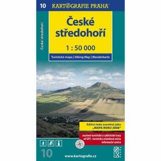 1: 50T (10)-České středohoří (turistická mapa)