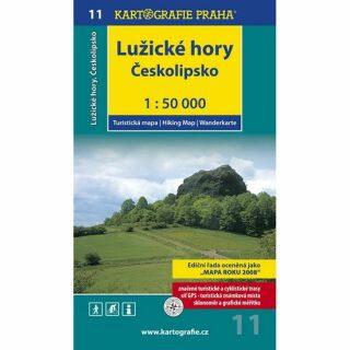 1: 50T (11)-Lužické hory,Českolipsko (turistická mapa)